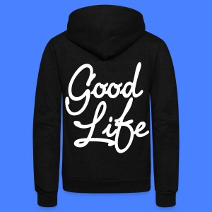 Good Life Zip Hoodies/Jackets - stayflyclothing.com - Unisex Fleece Zip Hoodie by American Apparel