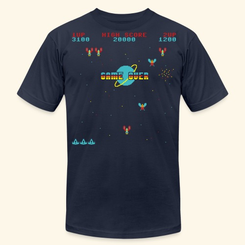 Game-Over-Screen - Men's  Jersey T-Shirt