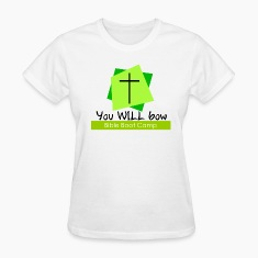 you will bow bible boot camp christian humor
