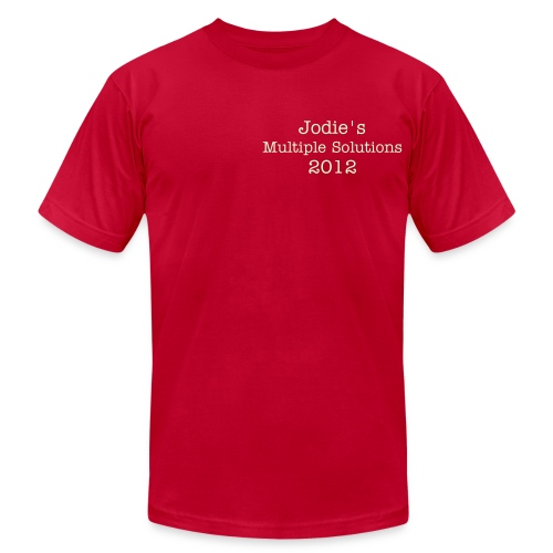 Jodie's Multiple Solutions - Men's  Jersey T-Shirt