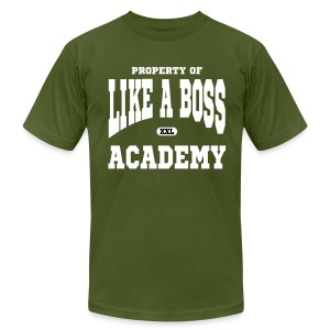 Property of Like A Boss Vector Graphic T-Shirt - Men's T-Shirt by American Apparel