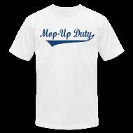 T-Shirts ~ Men's T-Shirt by American Apparel ~ Men's American Apparel Banner Tee