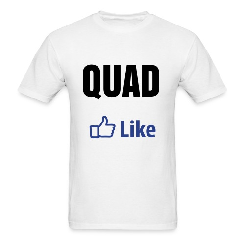 QUAD! (Like version) - Men's T-Shirt