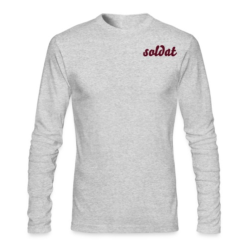 soldat - Men's Long Sleeve T-Shirt by Next Level