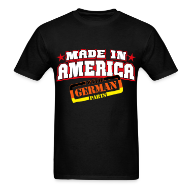 MADE IN AMERICA - German PARTS