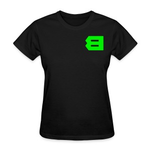 B Letter (double sided) - Women's T-Shirt