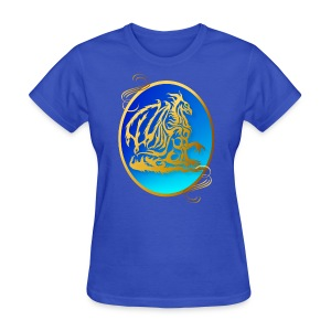 Gold Dragon 3 - Women's T-Shirt
