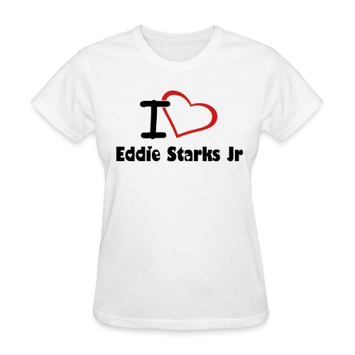 Women's I Love Eddie T-Shirt - Women's T-Shirt