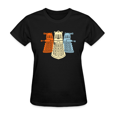daleks girl t-shirt