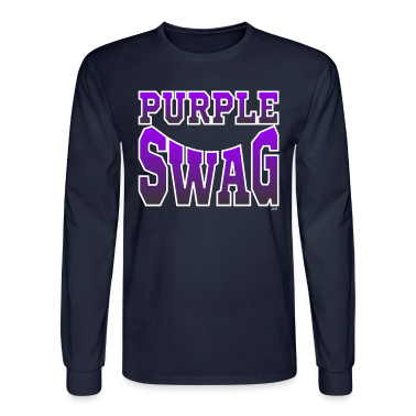 Purple $wag Long Sleeve Shirts