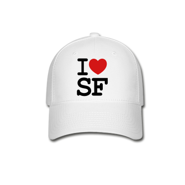 I LOVE SF CAP