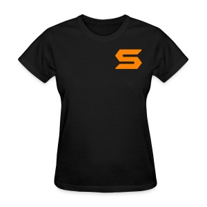 S Letter (double sided) - Women's T-Shirt