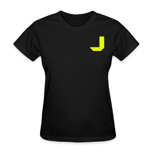 J Letter (double sided) - Women's T-Shirt