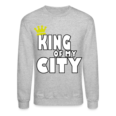 king of my city Long Sleeve Shirts