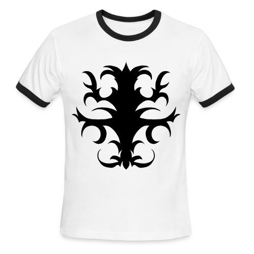 Tattoo Design #3 - Men's Ringer T-shirt - Men's Ringer T-Shirt