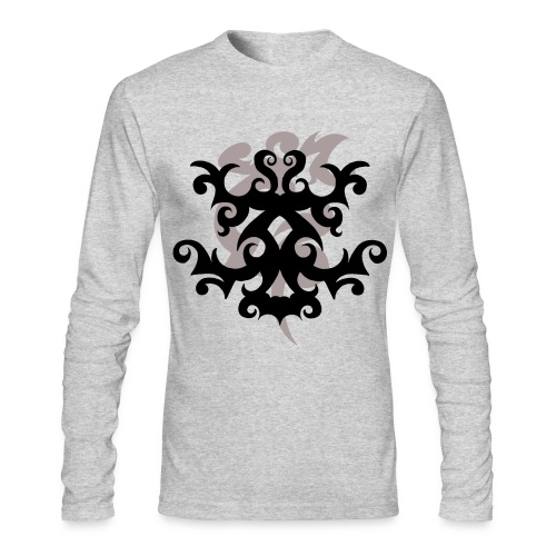 Tattoo Design #4 - Men's Long Sleeve T-shirt - Men's Long Sleeve T-Shirt by Next Level