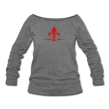 Lily Flower, trinity symbol Charity, Hope, Faith 3 Long Sleeve Shirts