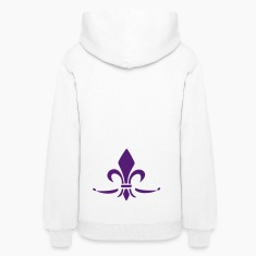Lily Flower, trinity symbol Charity, Hope, Faith 3 Hoodies
