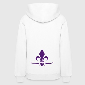 Lily Flower, trinity symbol Charity, Hope, Faith 3 Hoodies - Women's Hoodie
