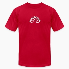 Lotus Flower, digital silver, symbol of perfection and enlightenment, sacred symbol T-Shirts