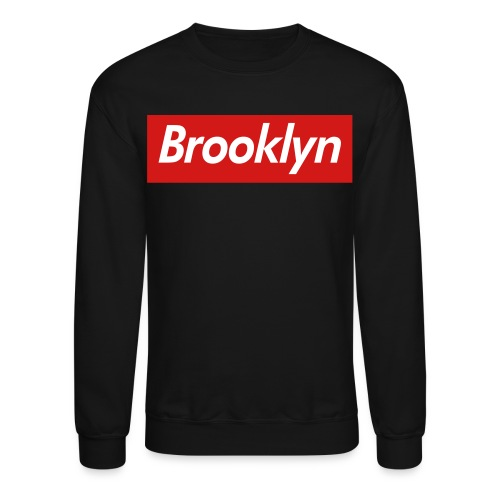 Brooklyn Tag Crewneck - Crewneck Sweatshirt