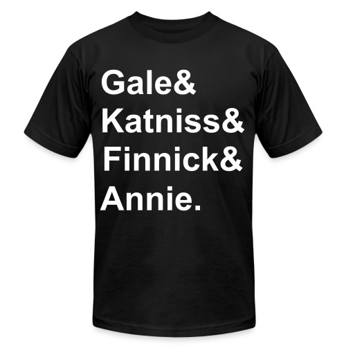 Katniss,Gale,Finnick,Annie - Men's  Jersey T-Shirt