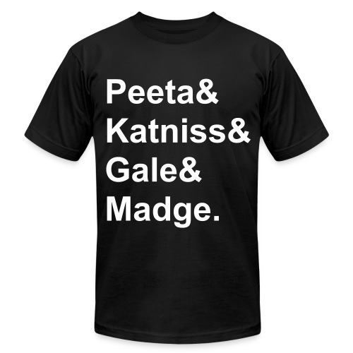 Katniss,Peeta,Gale,Madge - Men's Fine Jersey T-Shirt