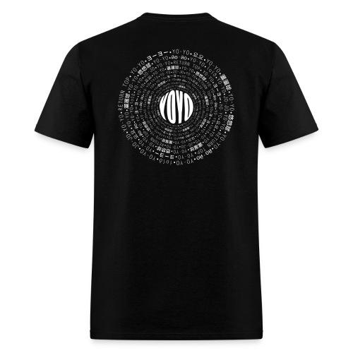Yo-Yo Multilingual Backview - Men's T-Shirt