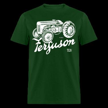 Classic Ferguson TE20 script and illustration
