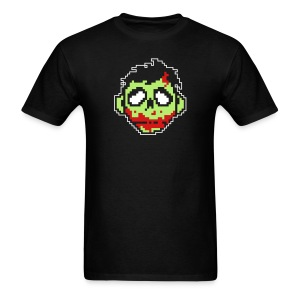 RedStar : Mens Black Zombie T - Men's T-Shirt