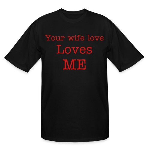 wife - Men's Tall T-Shirt
