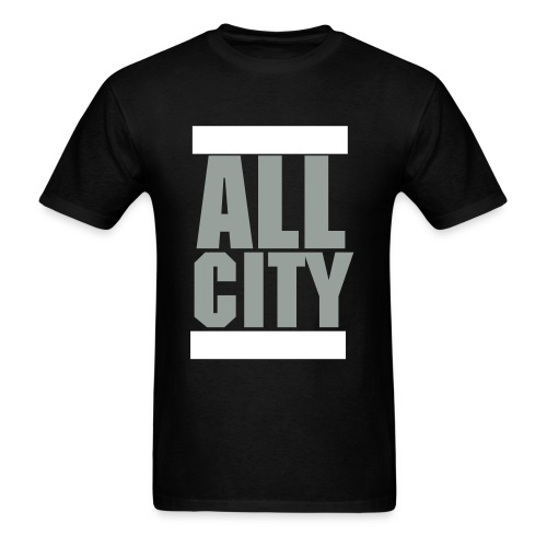 All City Squared - Men's T-Shirt