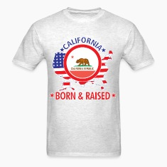 California_born_and_raised T-Shirts