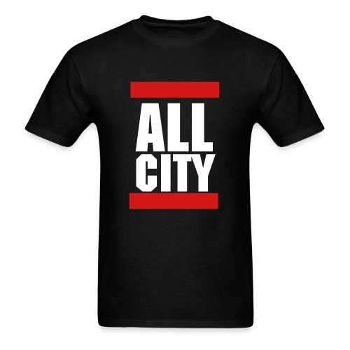 All City Squared Shirt v.2 - Men's T-Shirt