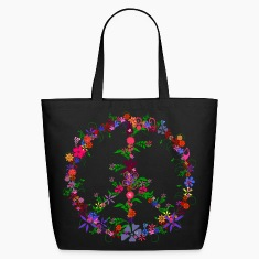Peace Flower Dome Bags & backpacks