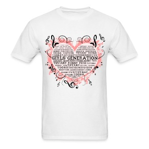 [SNSD] Hearts & Trebles - Men's T-Shirt