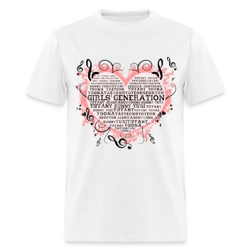 [SNSD] Hearts & Trebles - Men's T-Shirt