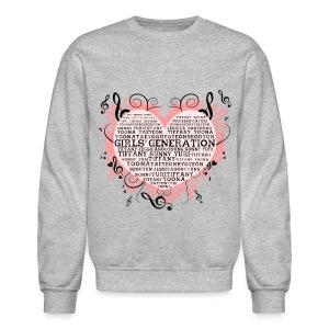 [SNSD] Hearts & Trebles - Crewneck Sweatshirt