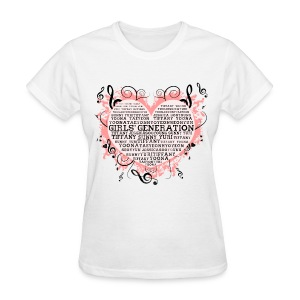 [SNSD] Hearts & Trebles - Women's T-Shirt