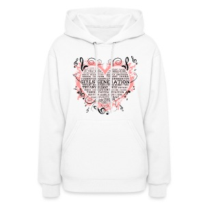 [SNSD] Hearts & Trebles - Women's Hoodie