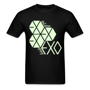 [EXO] Hexagons (Glow in the Dark) - Men's T-Shirt