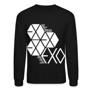 [EXO] Hexagons - Crewneck Sweatshirt