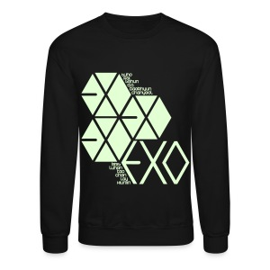 [EXO] Hexagons (Glow in the Dark) - Crewneck Sweatshirt
