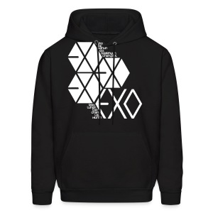 [EXO] Hexagons - Men's Hoodie