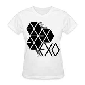 [EXO] Hexagons - Women's T-Shirt