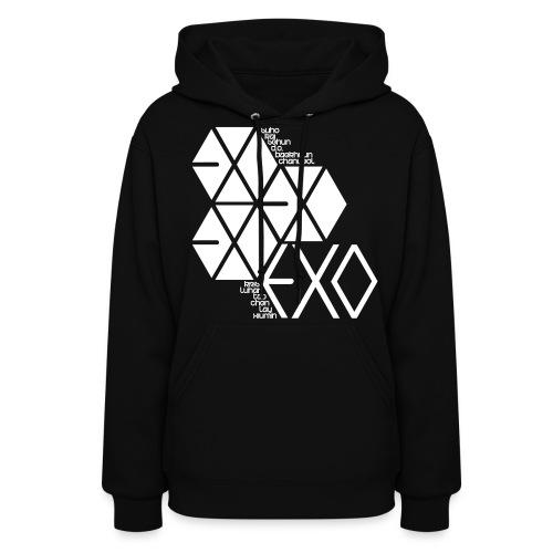 [EXO] Hexagons - Women's Hoodie