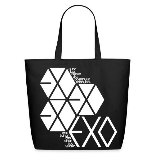 [EXO] Hexagons - Eco-Friendly Cotton Tote