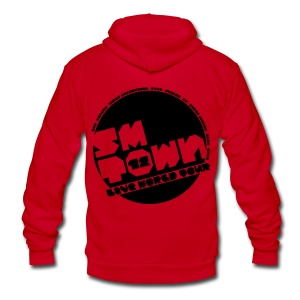 [KOR] SMTOWN 2012 V. 1 - Unisex Fleece Zip Hoodie by American Apparel