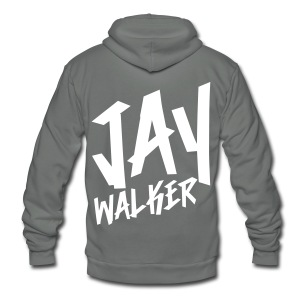 [JAY] Jaywalker - Unisex Fleece Zip Hoodie by American Apparel