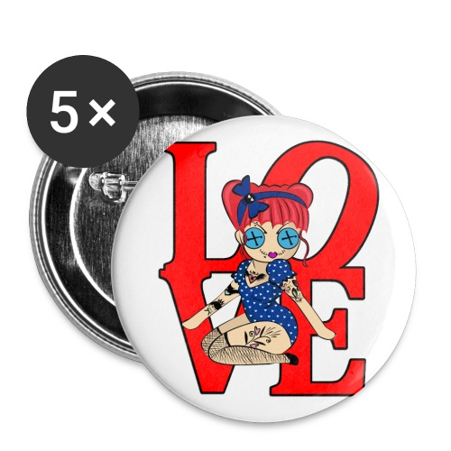 Pennsylvania Logo Buttons - Buttons large 2.2'' (5-pack)